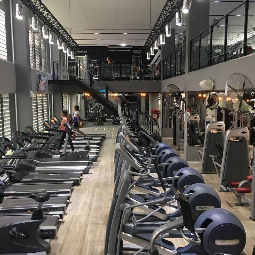 Pisos PVC Wud en el Jockey Gym 6