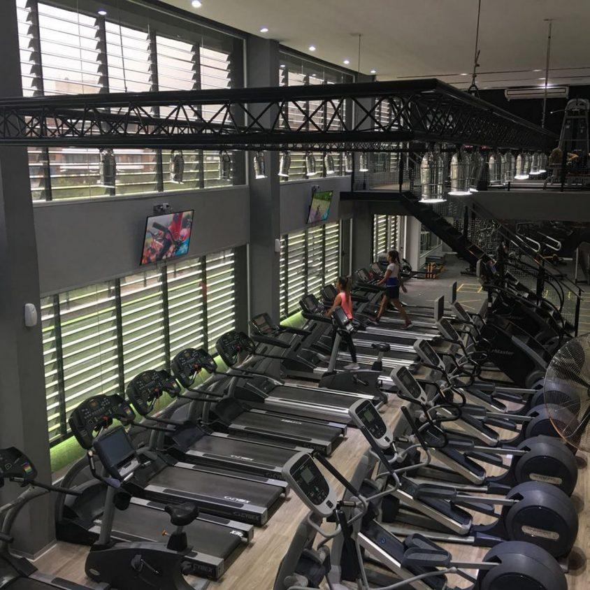 Pisos PVC Wud en el Jockey Gym 5