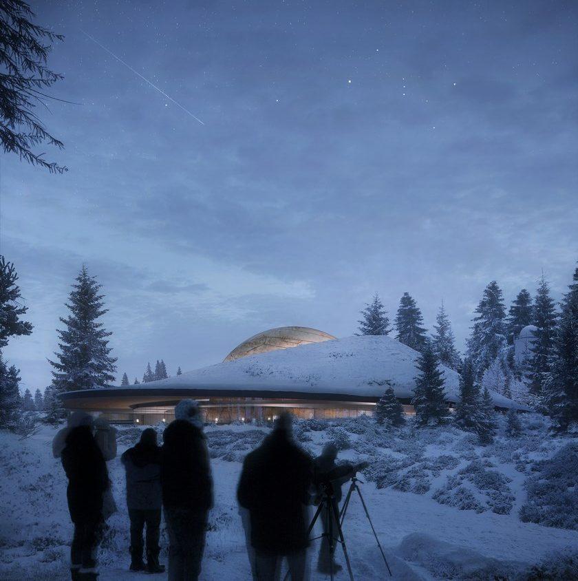Planetario en Noruega 1