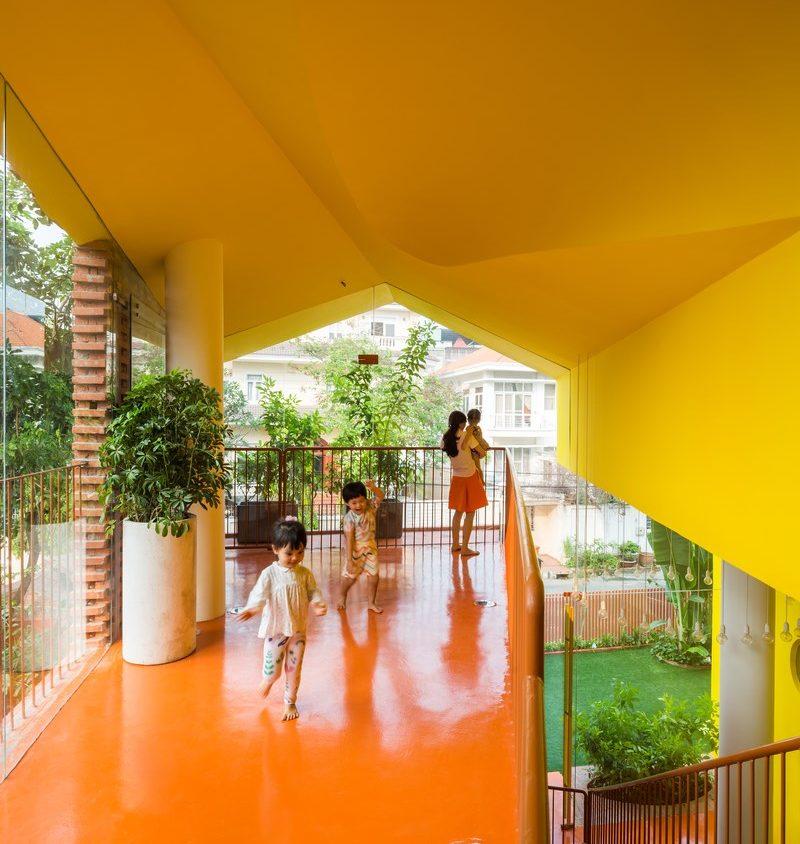 Jardín de infante vietnamita 4