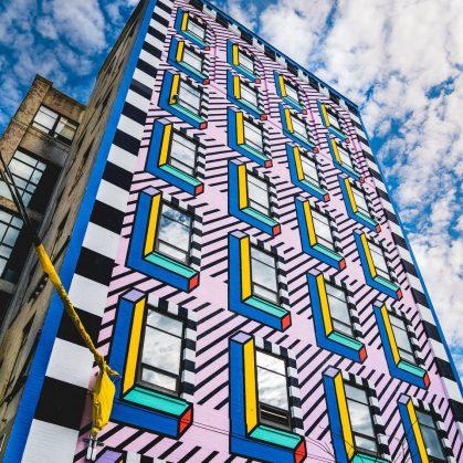 Un mural en Brooklyn 7