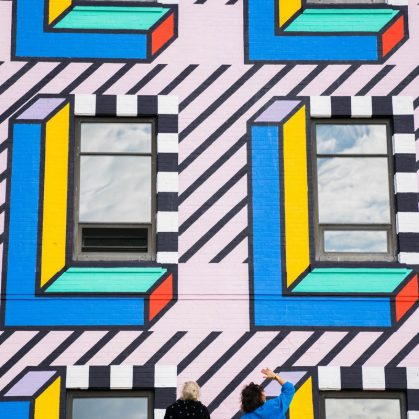 Un mural en Brooklyn 8