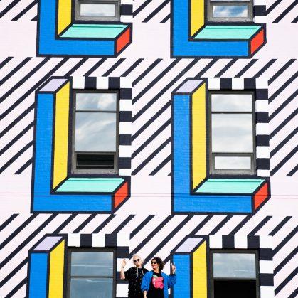 Un mural en Brooklyn 6