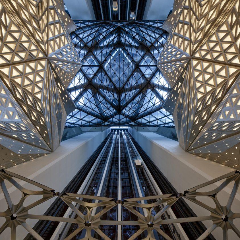 Morpheus, el nuevo hotel en City of Dreams 14