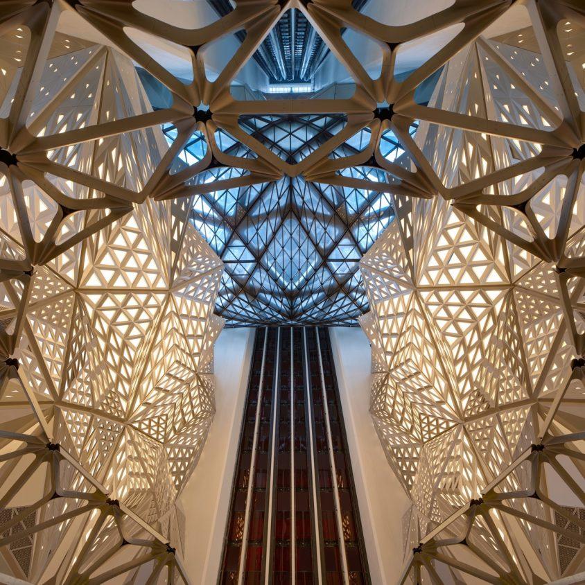 Morpheus, el nuevo hotel en City of Dreams 19