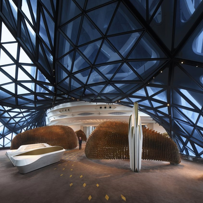 Morpheus, el nuevo hotel en City of Dreams 18