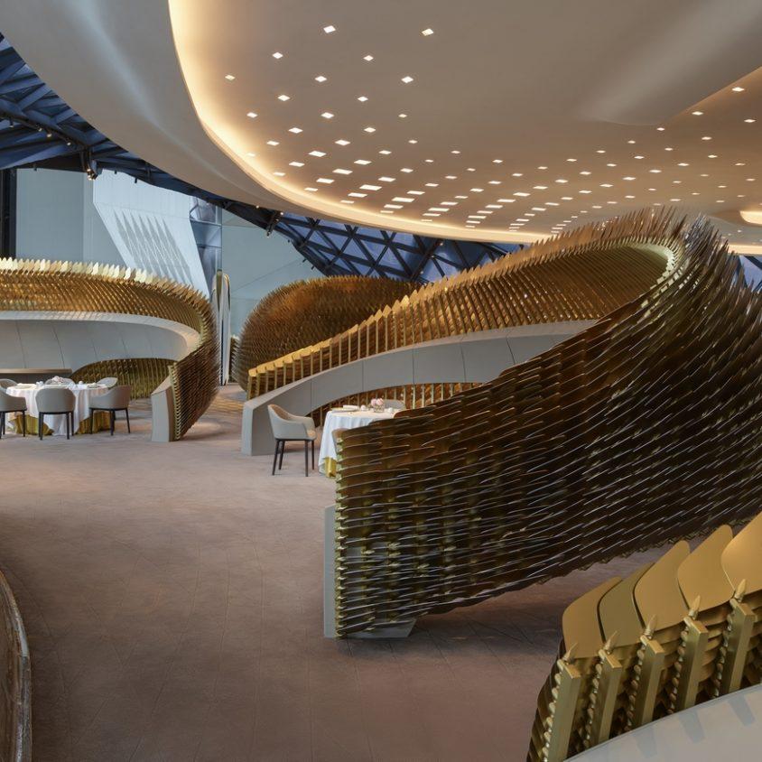 Morpheus, el nuevo hotel en City of Dreams 16