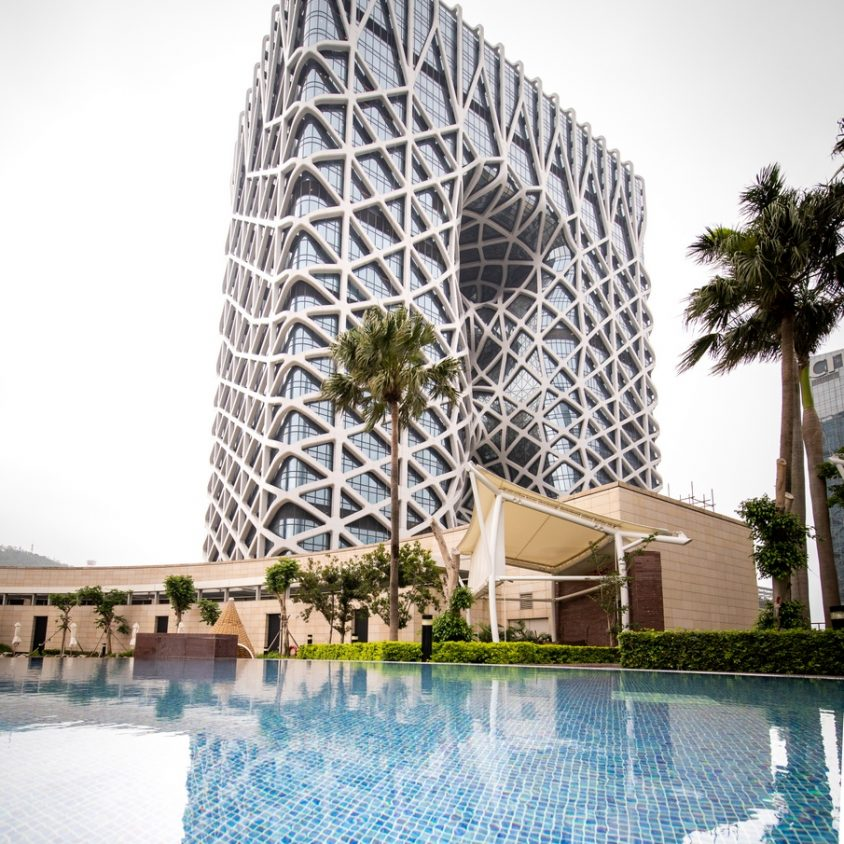 Morpheus, el nuevo hotel en City of Dreams 1