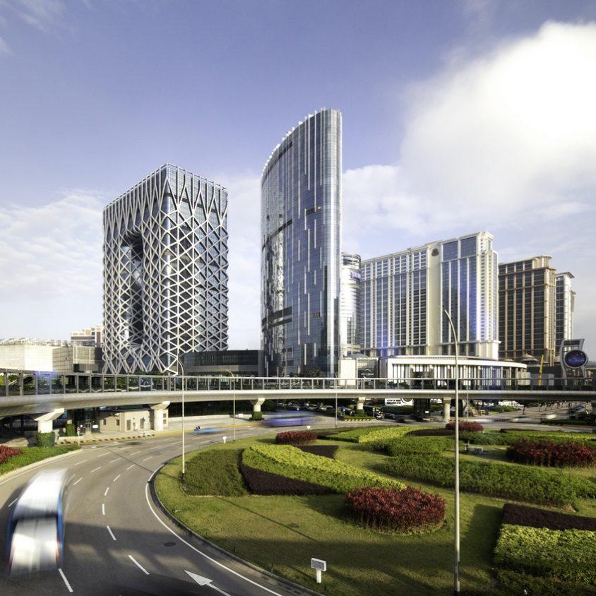 Morpheus, el nuevo hotel en City of Dreams 4