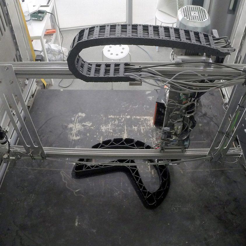 Banco reciclado en 3D 2