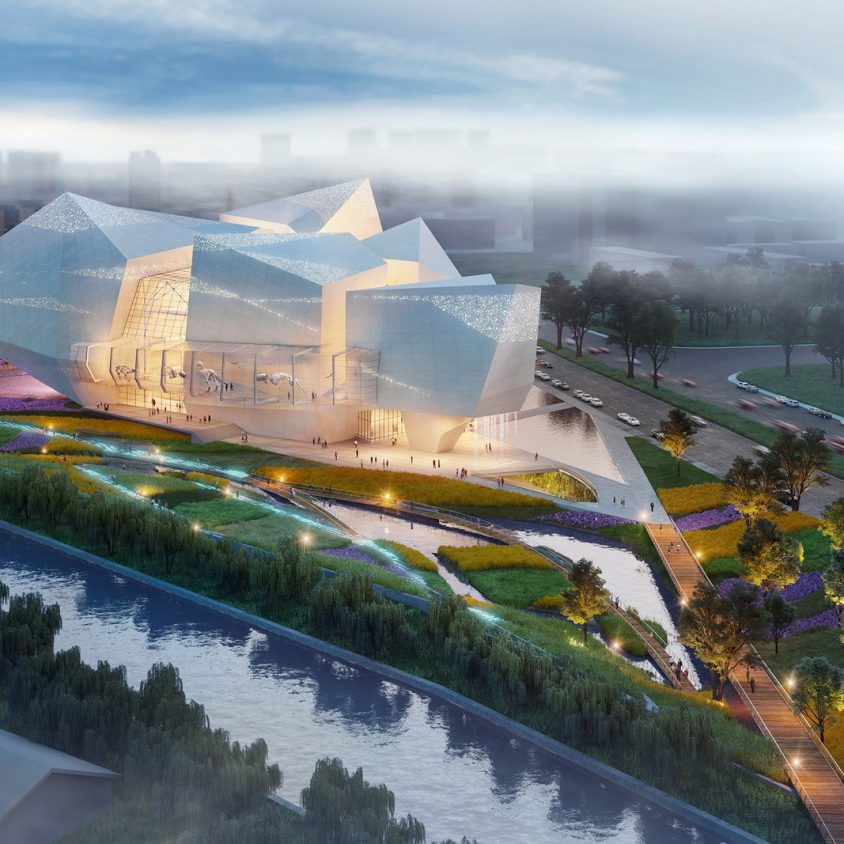 Pelli Clarke Pelli Architects realizará un museo en China 6