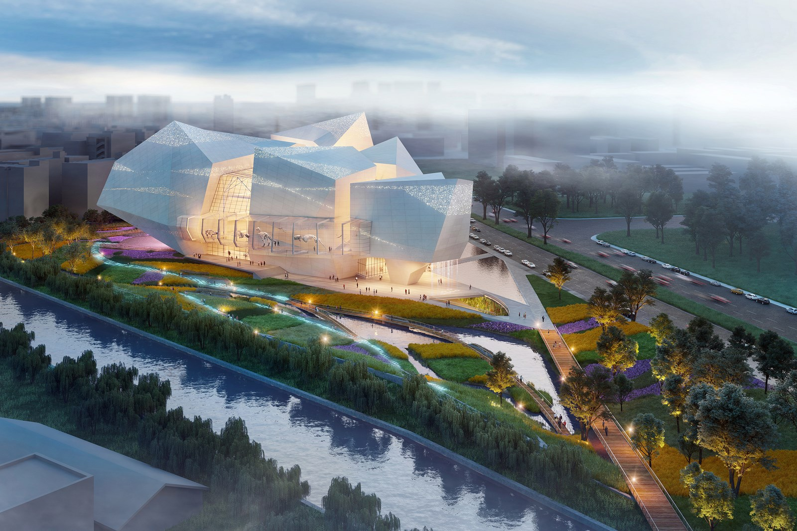 Pelli Clarke Pelli Architects realizará un museo en China 14