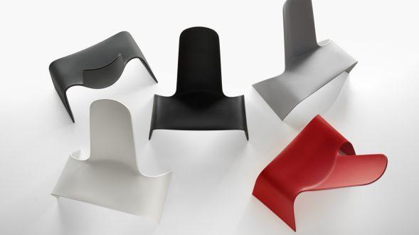 Una silla con estilo de auto deportivo 24