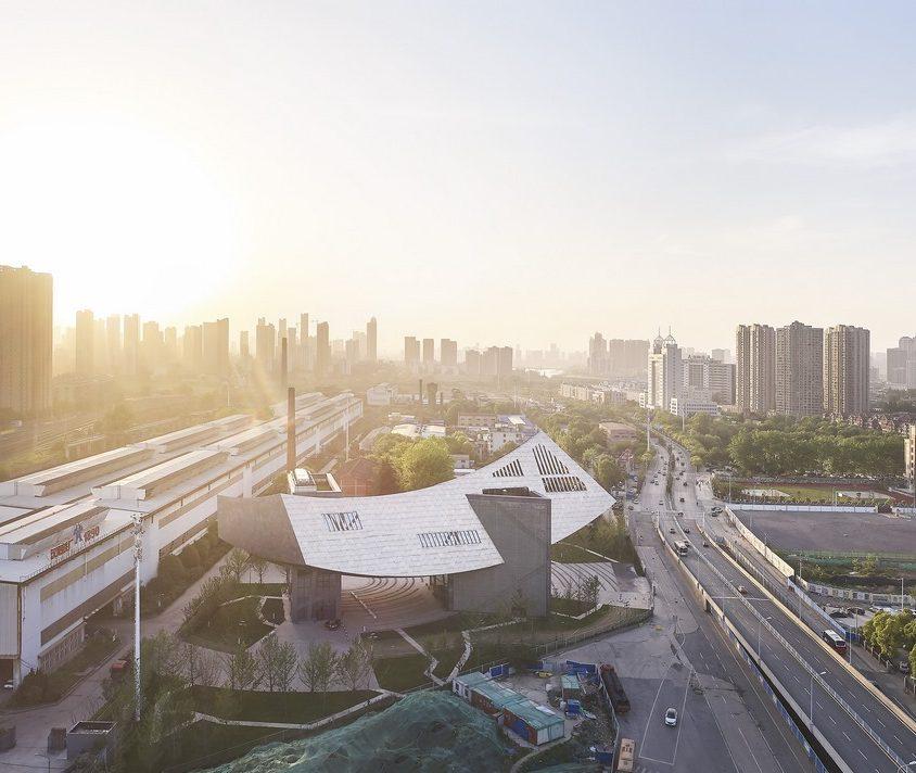 El museo Zhang ZhiDong, la primera obra de Libeskind en China 3