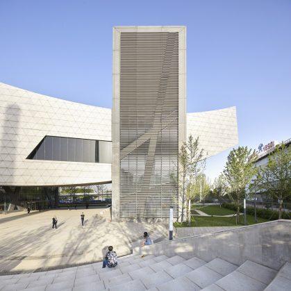 El museo Zhang ZhiDong, la primera obra de Libeskind en China 5