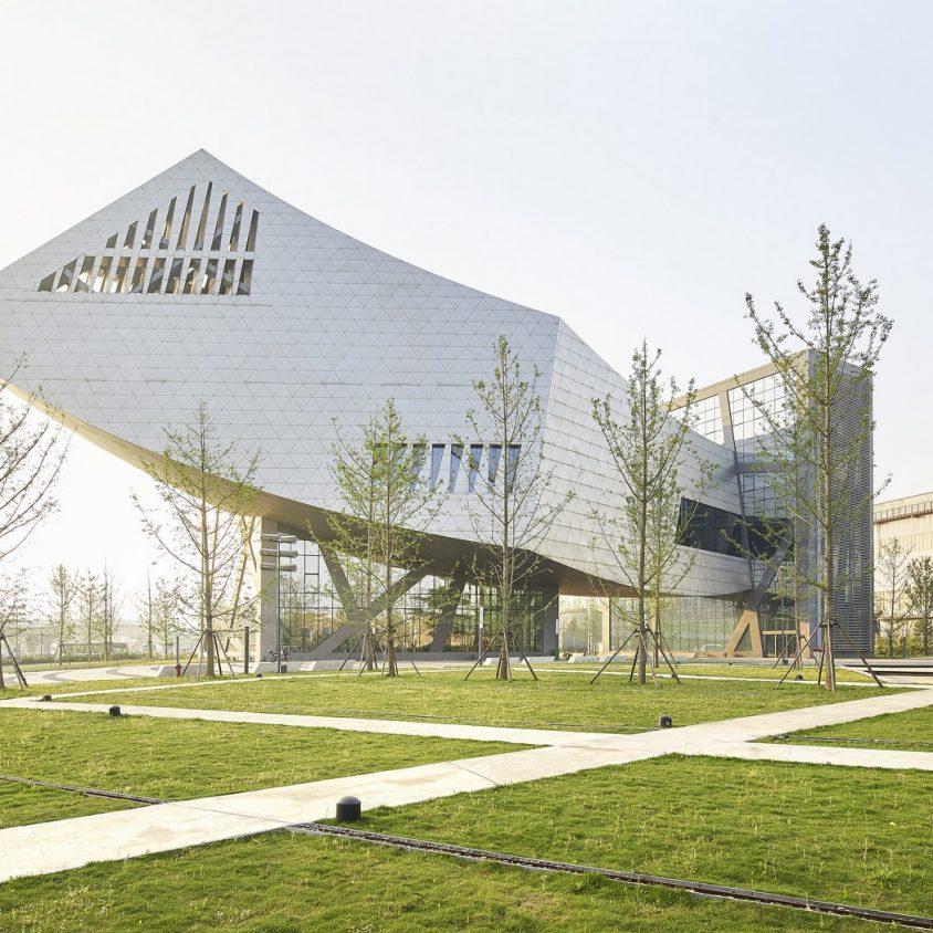 El museo Zhang ZhiDong, la primera obra de Libeskind en China 2