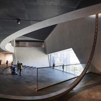 El museo Zhang ZhiDong, la primera obra de Libeskind en China 12