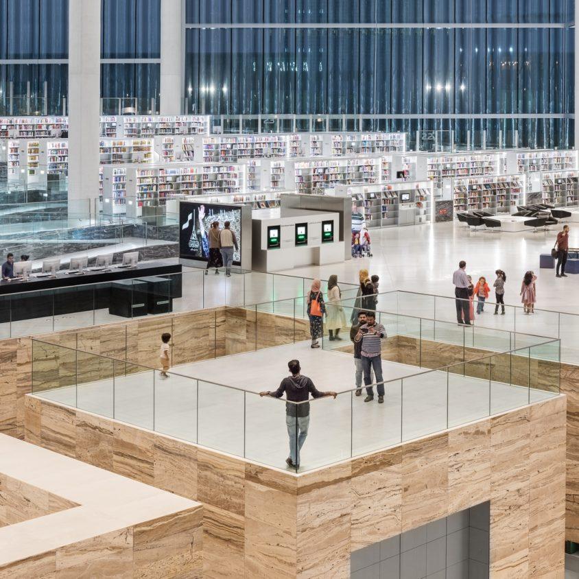 La Biblioteca Nacional de Qatar quedó inaugurada 4