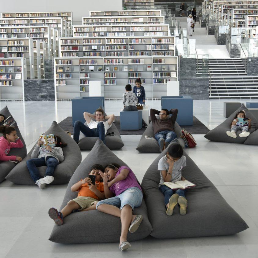 La Biblioteca Nacional de Qatar quedó inaugurada 7