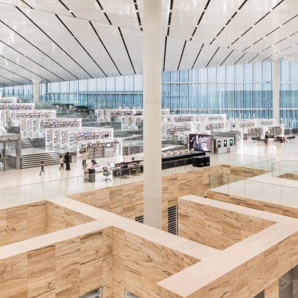 La Biblioteca Nacional de Qatar quedó inaugurada 10