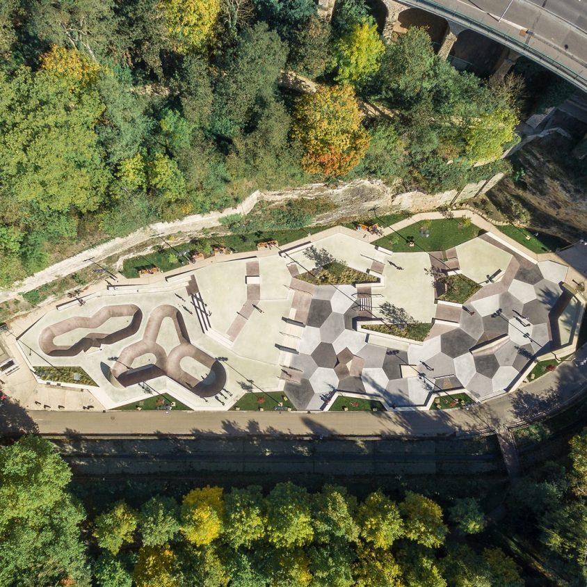 Parque de Skate en Luxemburgo 8