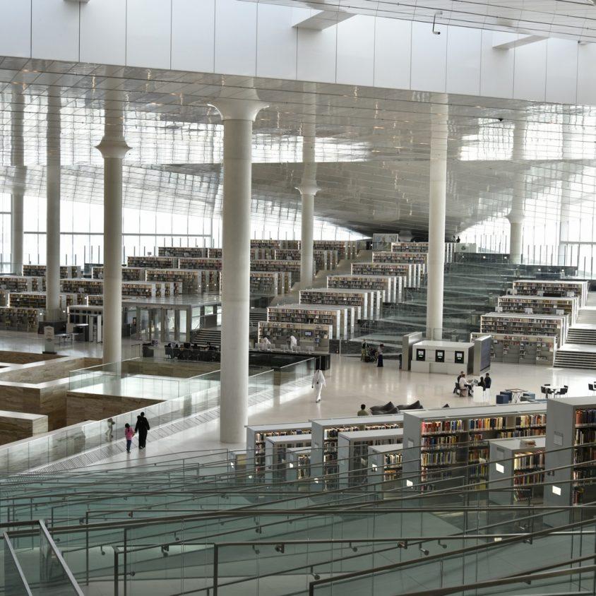 La Biblioteca Nacional de Qatar quedó inaugurada 5