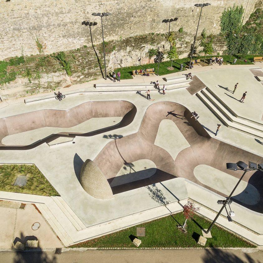 Parque de Skate en Luxemburgo 25