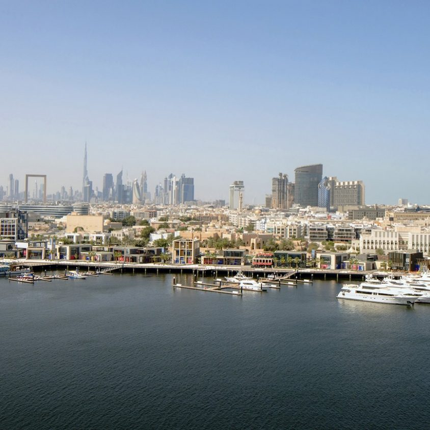 Un complejo comercial revitaliza Al Seef 1