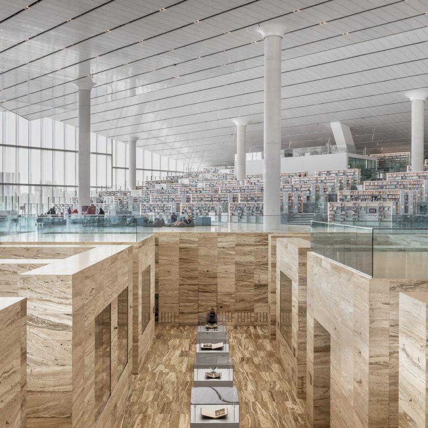 La Biblioteca Nacional de Qatar quedó inaugurada 23