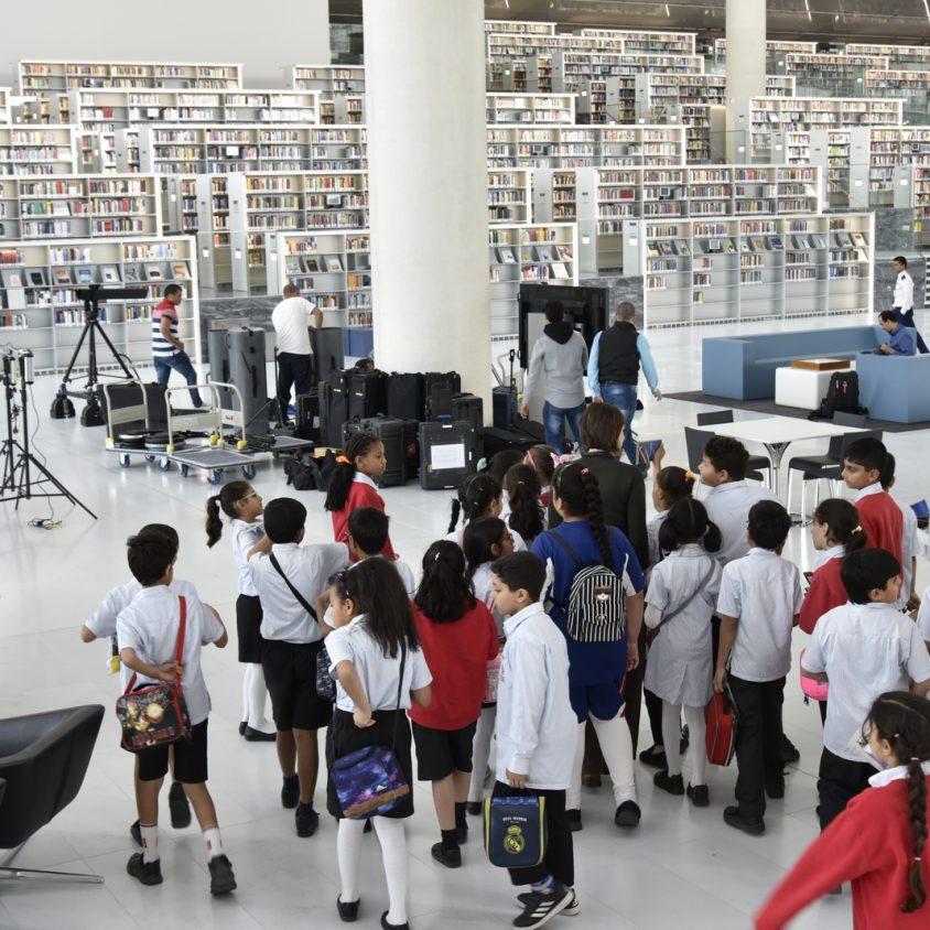 La Biblioteca Nacional de Qatar quedó inaugurada 8