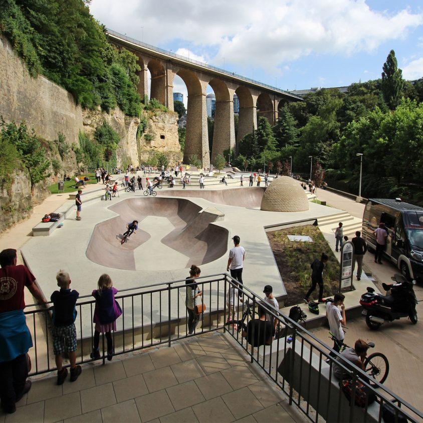 Parque de Skate en Luxemburgo 5