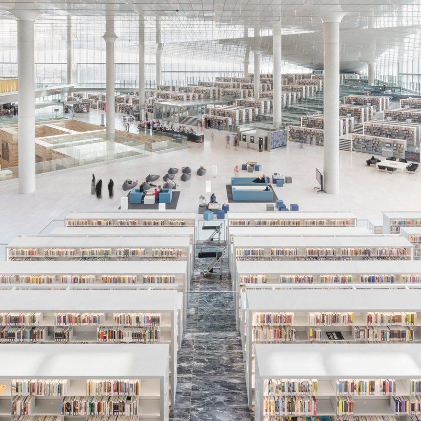 La Biblioteca Nacional de Qatar quedó inaugurada 6
