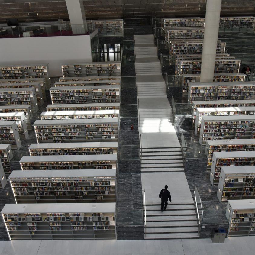 La Biblioteca Nacional de Qatar quedó inaugurada 13