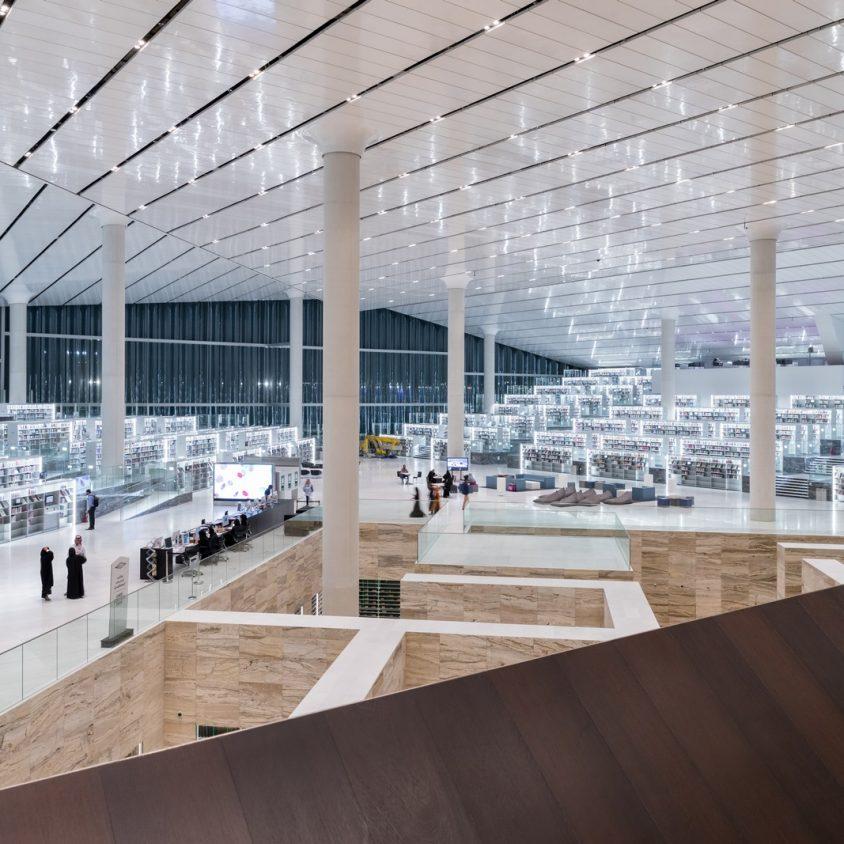La Biblioteca Nacional de Qatar quedó inaugurada 27