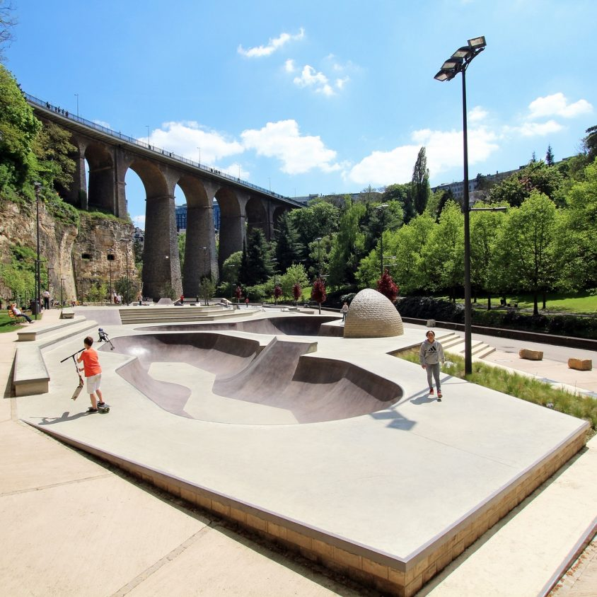 Parque de Skate en Luxemburgo 7