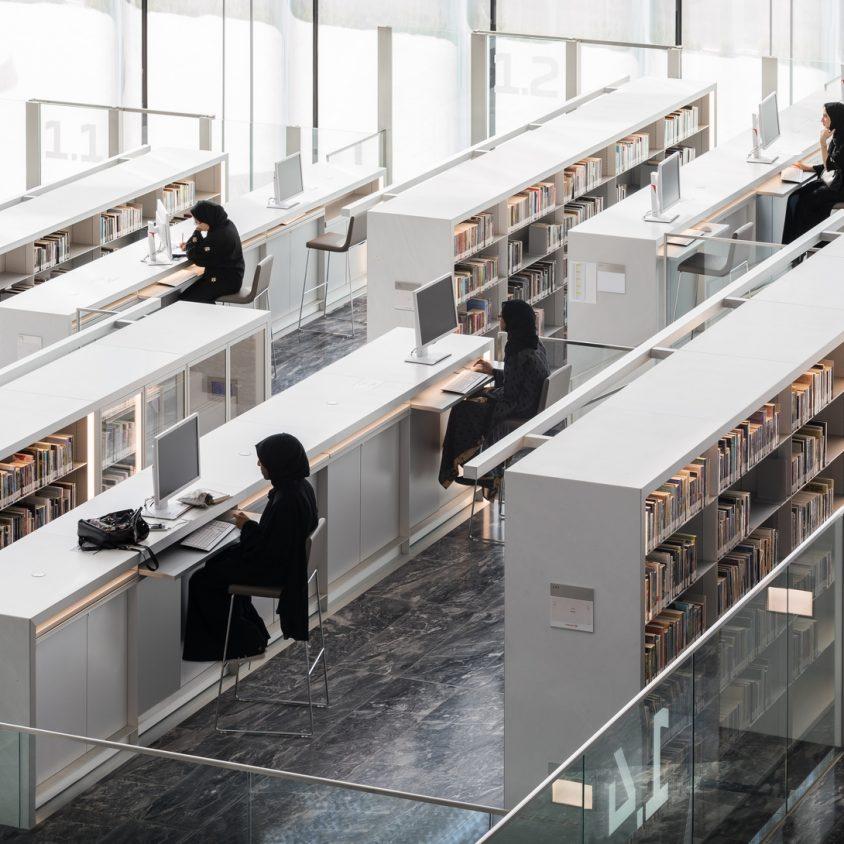 La Biblioteca Nacional de Qatar quedó inaugurada 14