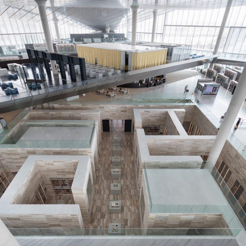 La Biblioteca Nacional de Qatar quedó inaugurada 9
