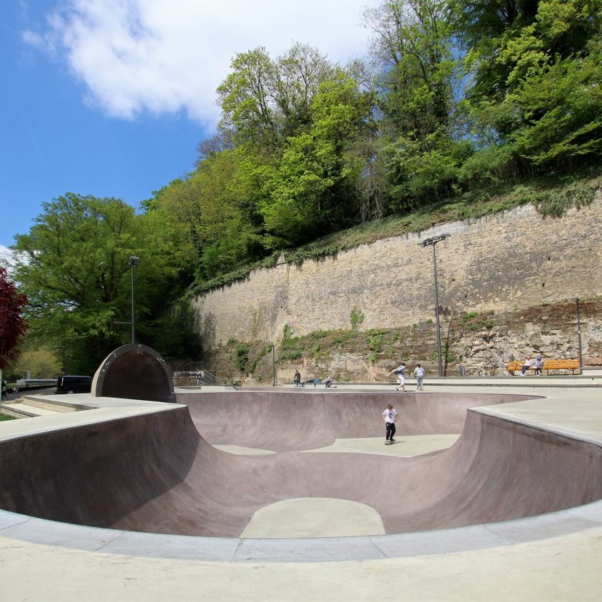 Parque de Skate en Luxemburgo 9