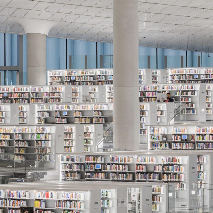 La Biblioteca Nacional de Qatar quedó inaugurada 25