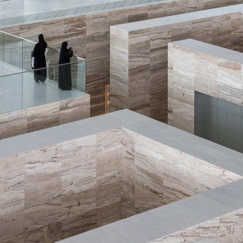 La Biblioteca Nacional de Qatar quedó inaugurada 15