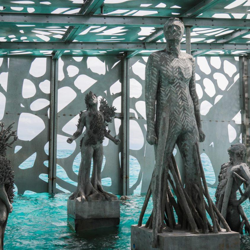 The Sculpture Coralarium, un museo en el agua 15