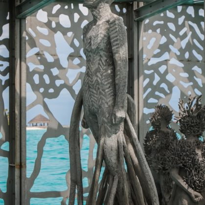The Sculpture Coralarium, un museo en el agua 16