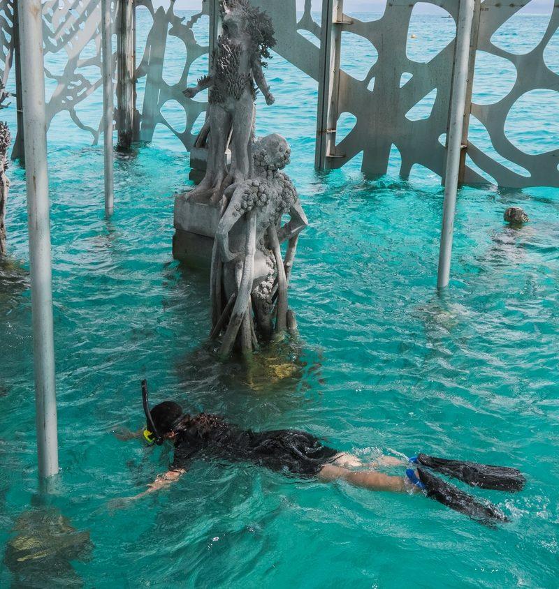 The Sculpture Coralarium, un museo en el agua 9