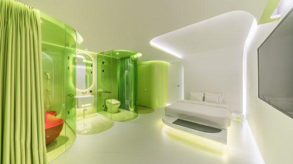 Lime Flavor, una suite futurista 27