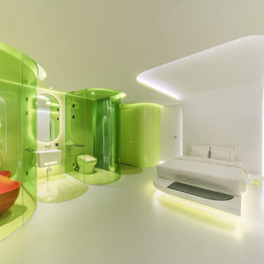 Lime Flavor, una suite futurista 6