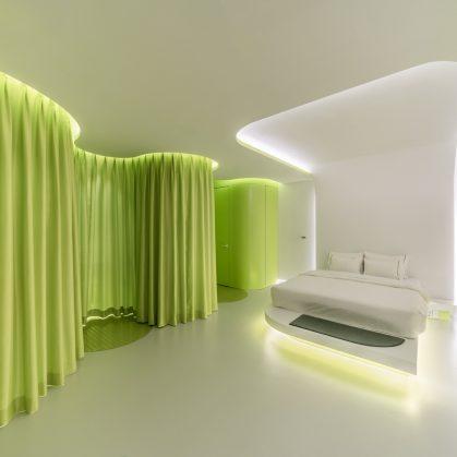 Lime Flavor, una suite futurista 8