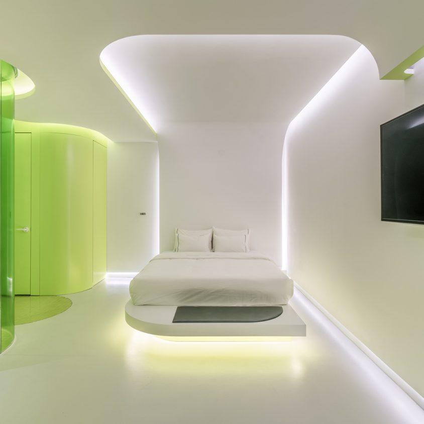 Lime Flavor, una suite futurista 19