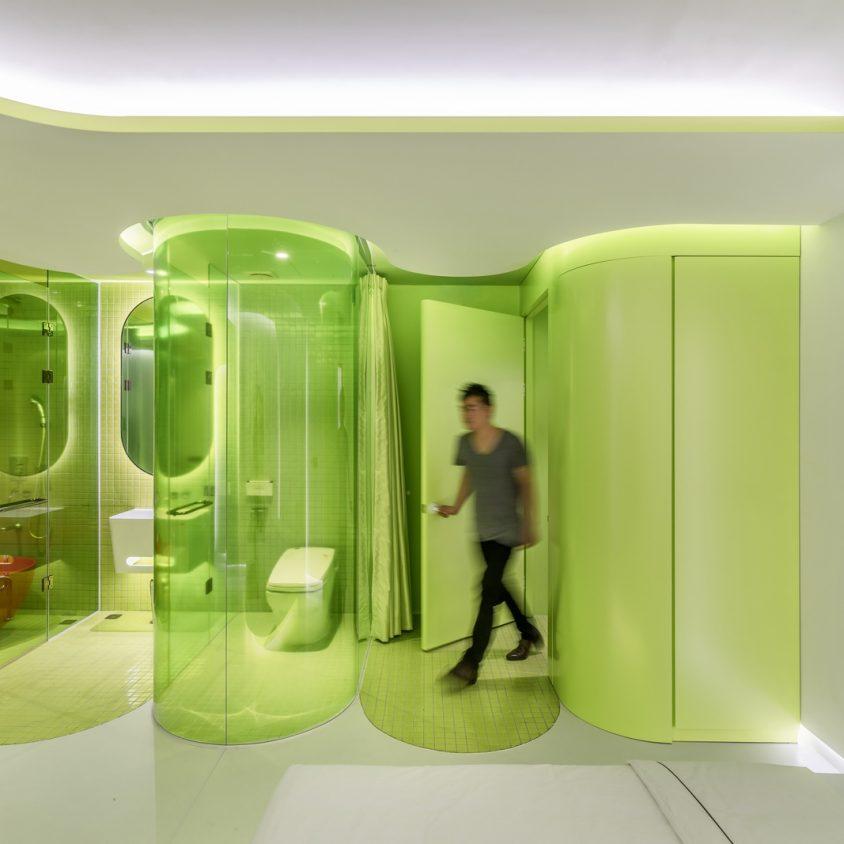 Lime Flavor, una suite futurista 4