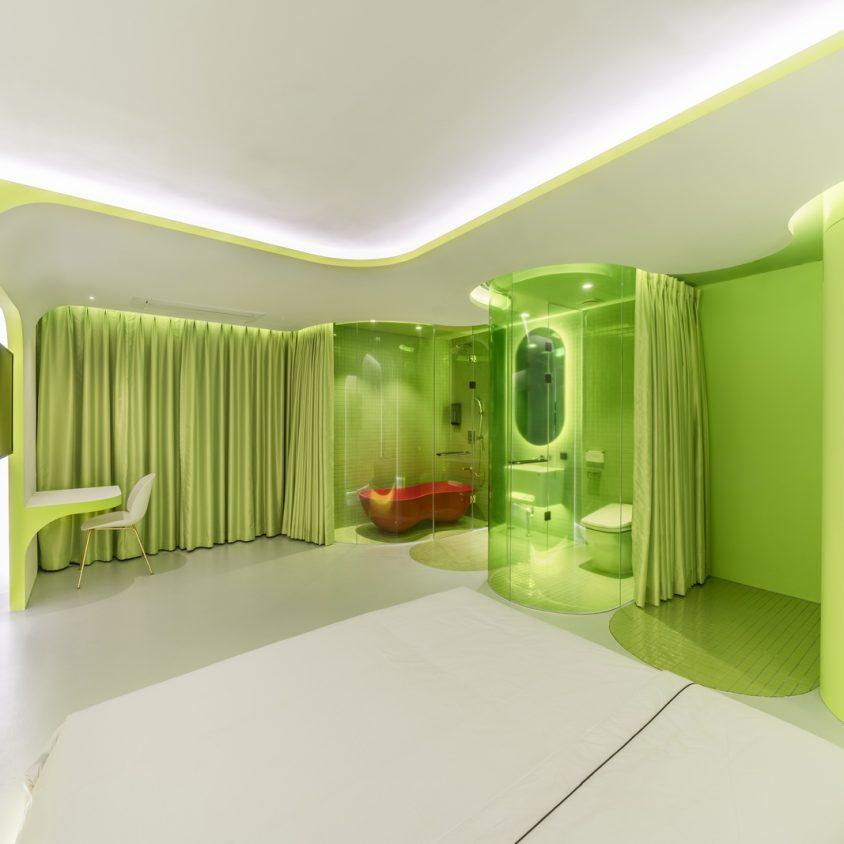 Lime Flavor, una suite futurista 11
