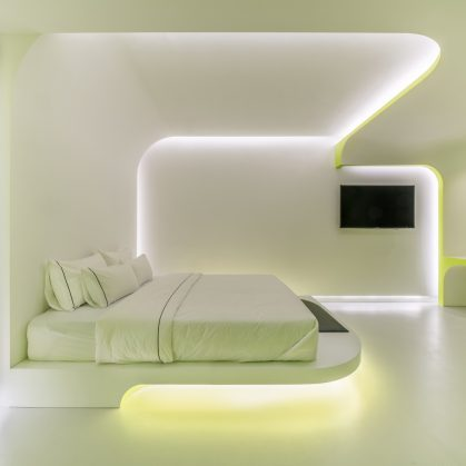 Lime Flavor, una suite futurista 9